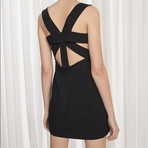 French connection Candice strapping back dress